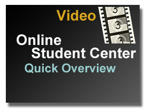 Video Link - Student Center Overview
